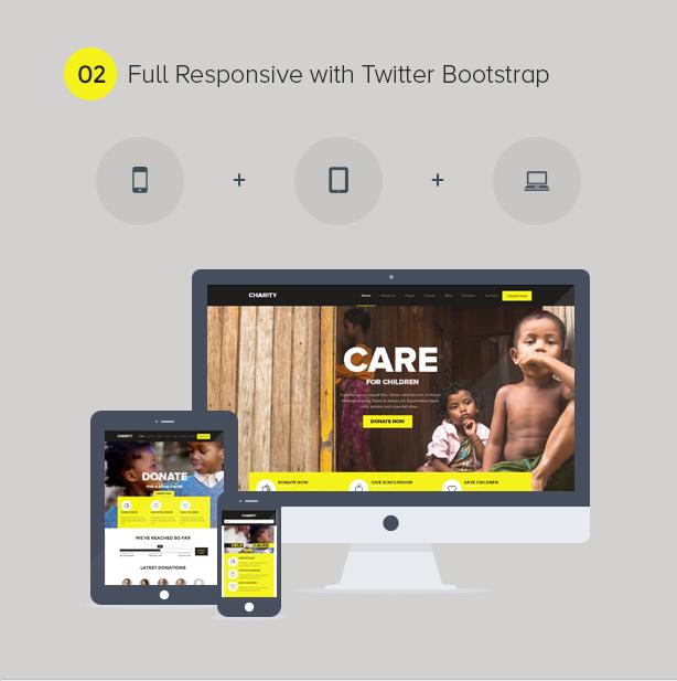 Charity WordPress Theme - 2