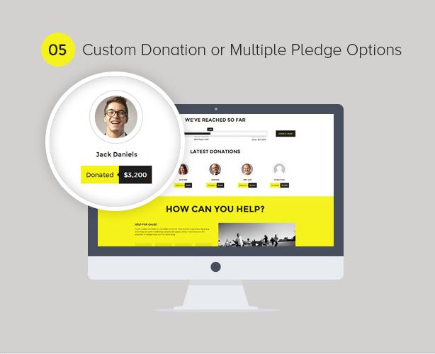 Charity WordPress Theme - 5