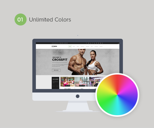 Gym WordPress Theme | Fitness - 1