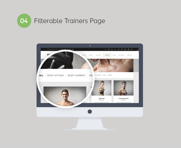 Gym WordPress Theme | Fitness - 4