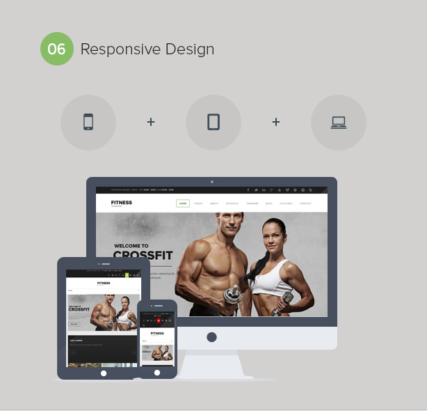 Gym WordPress Theme | Fitness - 7