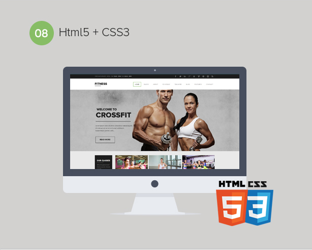Gym WordPress Theme | Fitness - 8