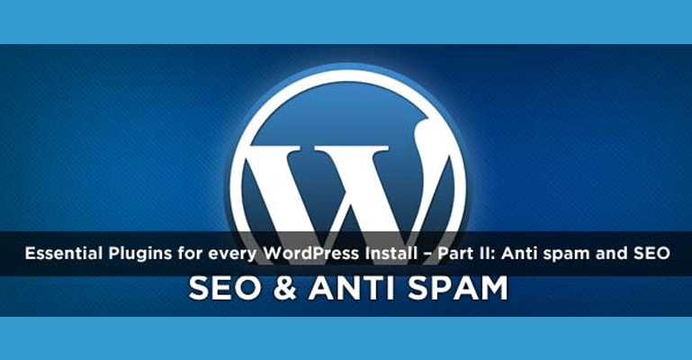 wordpress seo and anti spam plugins