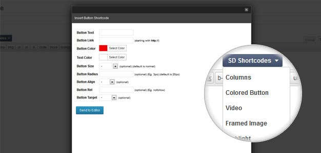 SD Shortcodes Free WordPress Plugin