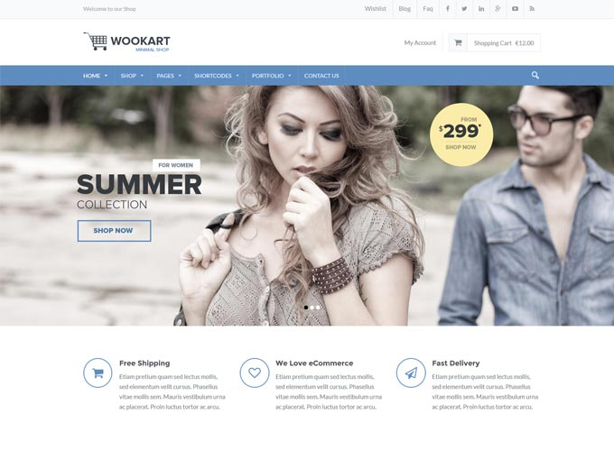 WooKart WordPress Theme